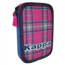 Plumier Kappa Tartan doble