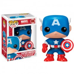 Figura POP Vinyl Marvel Capitan America