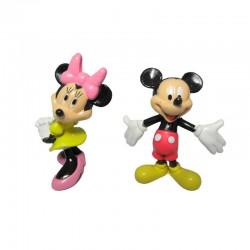 Figura llavero Mickey Minnie Disney 5cm surtido