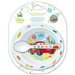 Set desayuno Cars Disney baby microondas