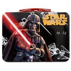 Caja merienda caramelos Star Wars metalica