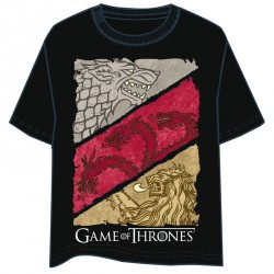 Camiseta House Crest Juego de Tronos adulto