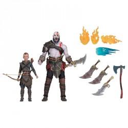 Set figuras Kratos y Atreus God of War