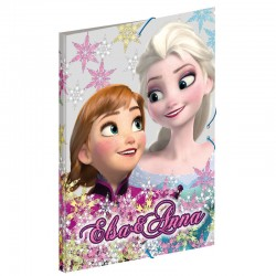 Carpeta A4 gomas solapas Frozen Disney Soul