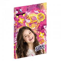 Carpeta gomas solapas Soy Luna Disney