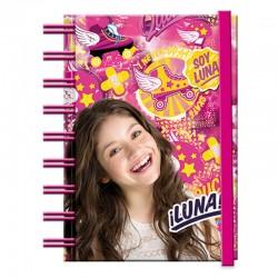 Bloc A6 Soy Luna Disney goma