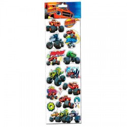 Stickers Blaze and The Monster Machine removibles grandes