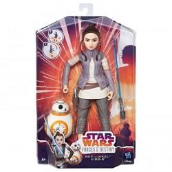 Figura Rey of Jakky & BB-8 Forces of Destiny Star Wars