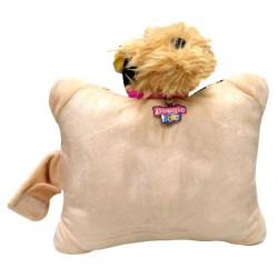 Cojin peluche lentejuelas Yorkshire Doggie Star