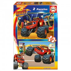 Puzzle Blaze and the Monster Machine 2x20pz