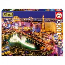 Puzzle Las Vegas neon 1000pz