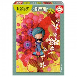 Puzzle Ketto Blue lady 1000pz