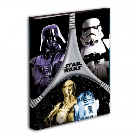Carpeta Star Wars Flash A4 4 anillas