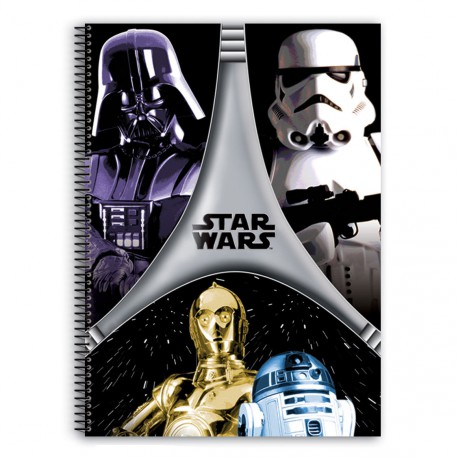 Bloc Star Wars Flash A4 80h