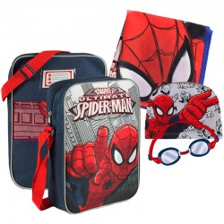 Set natacion Spiderman Marvel SuperHero