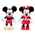 Peluche Mickey & Minnie Disney 45cm surtido
