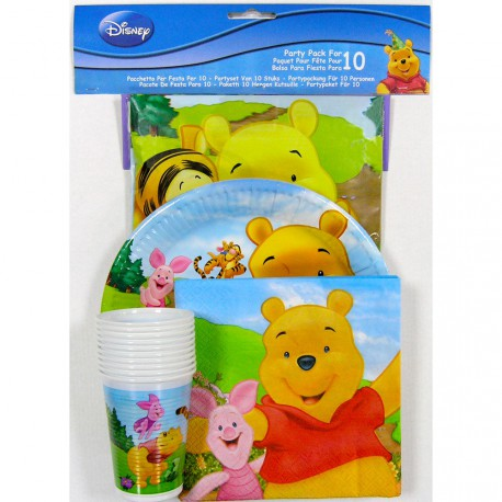 Pack fiesta Winnie the Pooh Disney