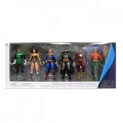 Pack 6 figuras Justice League Action Alex Ross