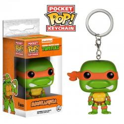 Llavero Pocket POP Michelangelo Tortugas Ninja