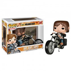 Figura POP Vinyl Daryl Dixon Chopper The Walking Dead