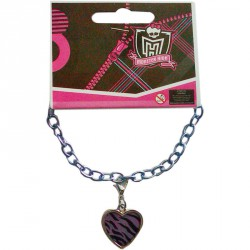 Brazalete metalico corazon Clawdeen Wolf Monster High