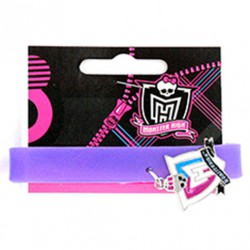 Pulsera silicona logo Clawdeen Wolf Monster High