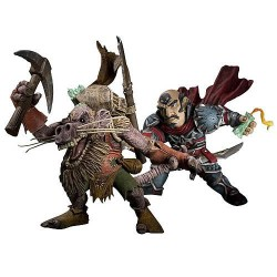 Figuras Brink Spannercrank vs. Kobold Miner Gnome Rogue World of Warcraft
